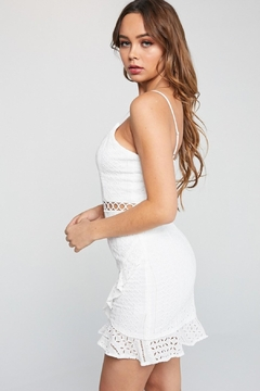 Unknown Factory Short White Dress - Alternate List Image