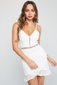 Unknown Factory Short White Dress - Product List Image