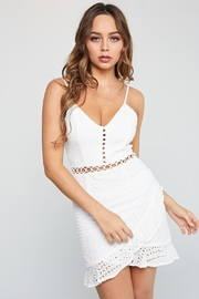 Unknown Factory Short White Dress - Product Mini Image