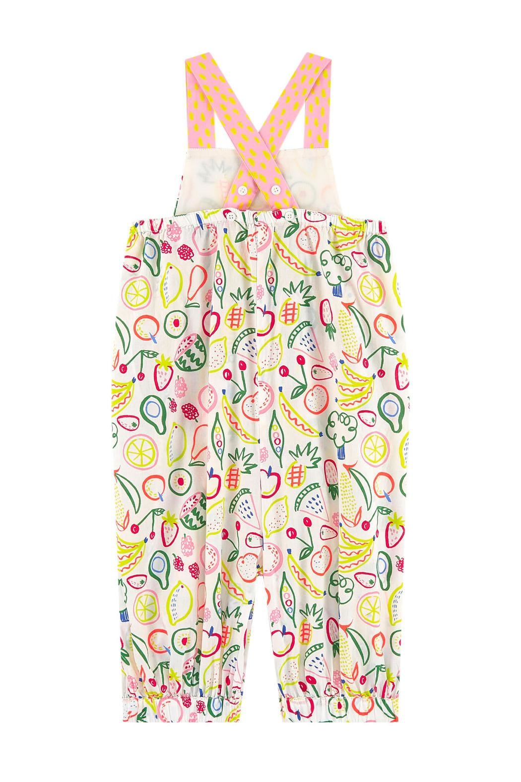 Stella McCartney Kids Shortall With Straps - Side Cropped Image