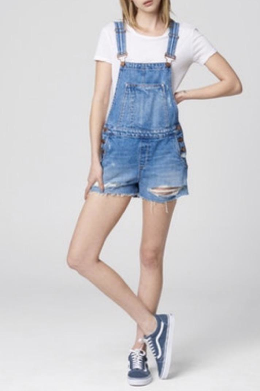 BlankNYC Shorts Overalls - Main Image