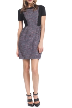 Shoshanna Colorblock Tweed Dress - Alternate List Image