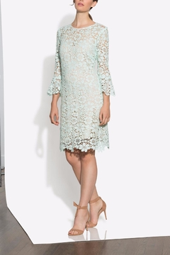 Shoshanna Lace Mint Dress - Alternate List Image