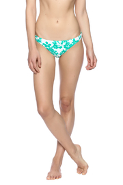 Shoshanna Mint Vines Bottom - Product Mini Image