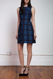 Shoshanna Plaid Jacquard Dress - Product Mini Image