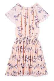 Shoshanna Pleated Floral Dress - Front cropped