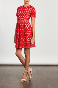 Shoptiques Product: Red Fit & Flare Dress
