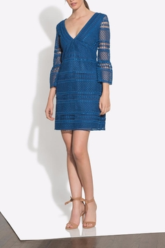 Shoshanna Blue Sacramento Dress - Alternate List Image