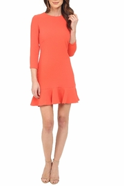 Shoshanna Tia Coral Dress - Front cropped