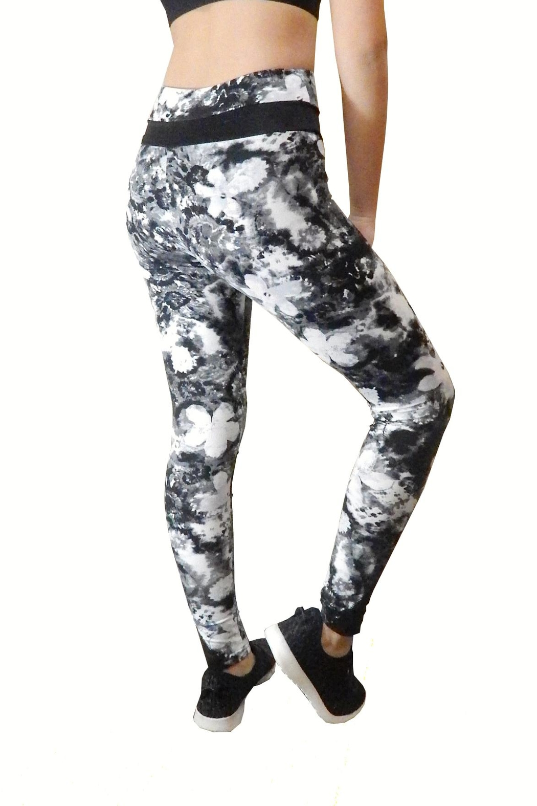 Shosho Active Athletic Leggings - Front Full Image