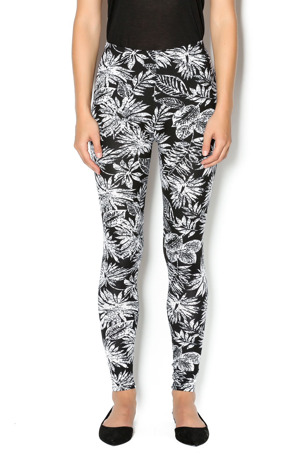2f5c76d0fe869 Shosho Tropical Print Leggings from New Jersey by Making Waves ...