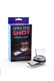 Gift Craft SHOT GLASS AND GLASS SPINNER - Product Mini Image