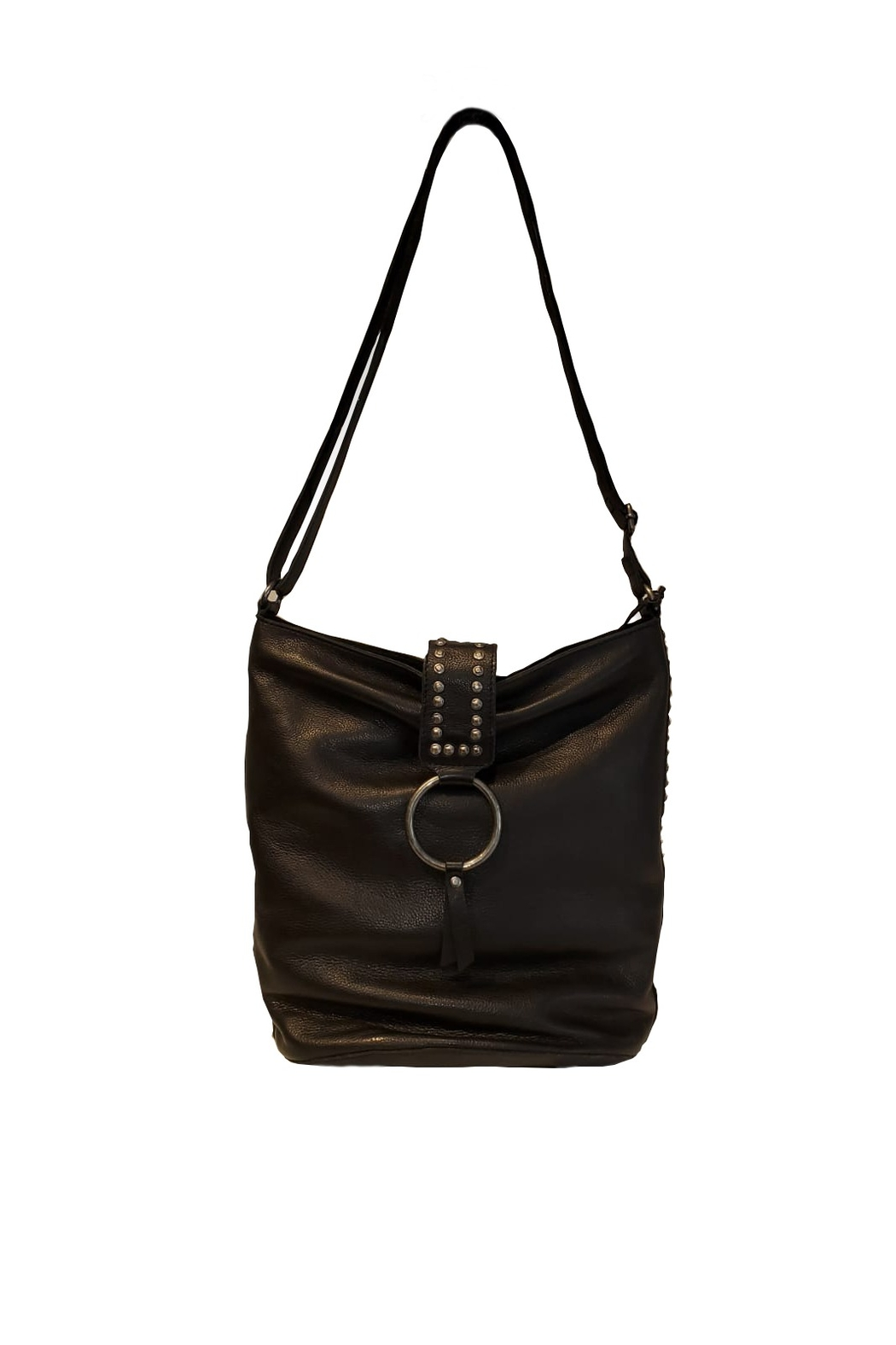 Latico Shoulder Black Bag - Main Image