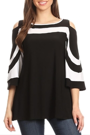 Come N See Shoulder Cut-Out Top - Product Mini Image