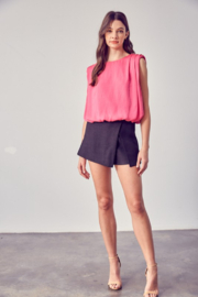 Do + Be  Shoulder Pad Tank - Front full body
