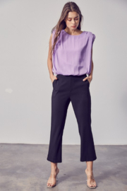 Do + Be  Shoulder Pad Tank - Side cropped