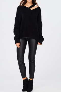 Shoptiques Product: Shoulder Strap Sweater