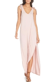 Anama Shoulder Tie Dress - Front cropped