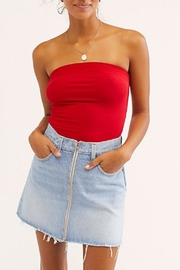 Free People Show-Me-Solid Tube Top - Product Mini Image