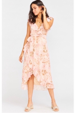 Show Me Your Mumu Granada Dress - Hydrangea Blooms - Product List Image
