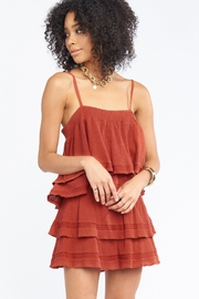 Show Me Your Mumu Aiden Mini Skirt - Front cropped