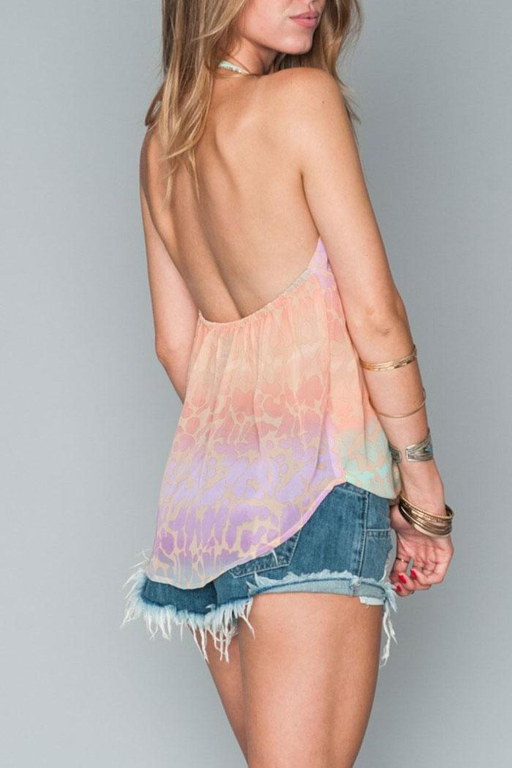 Show Me Your Mumu Andi Halter Top - Back Cropped Image