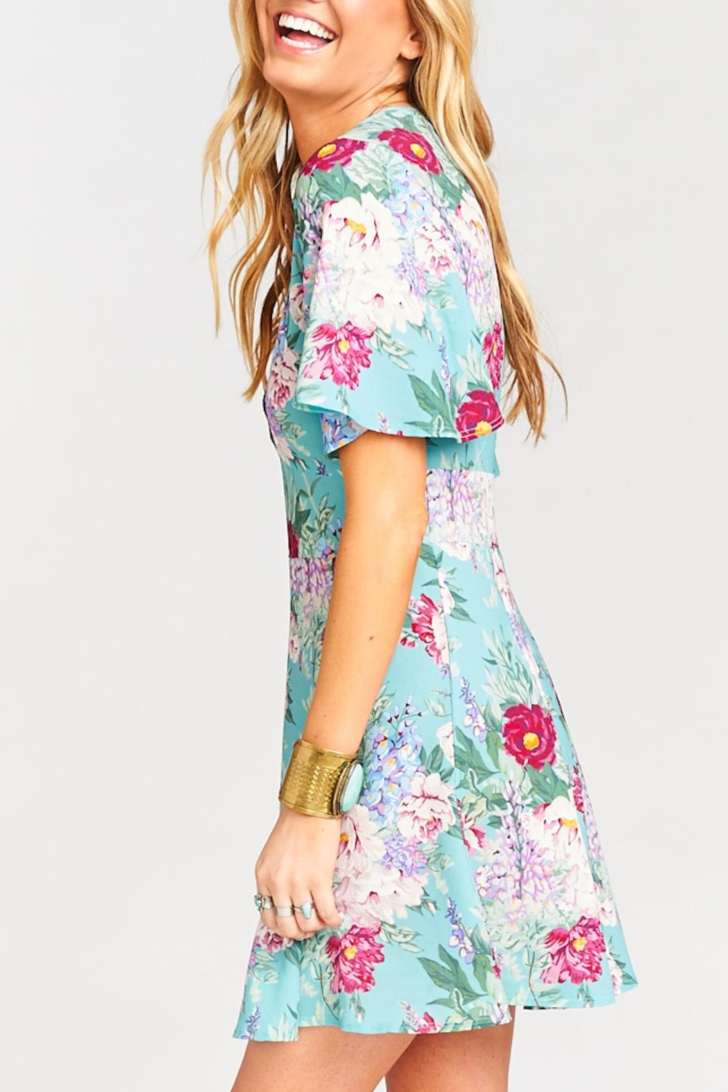 Show Me Your Mumu Aubrey Floral Dress - Front Full Image