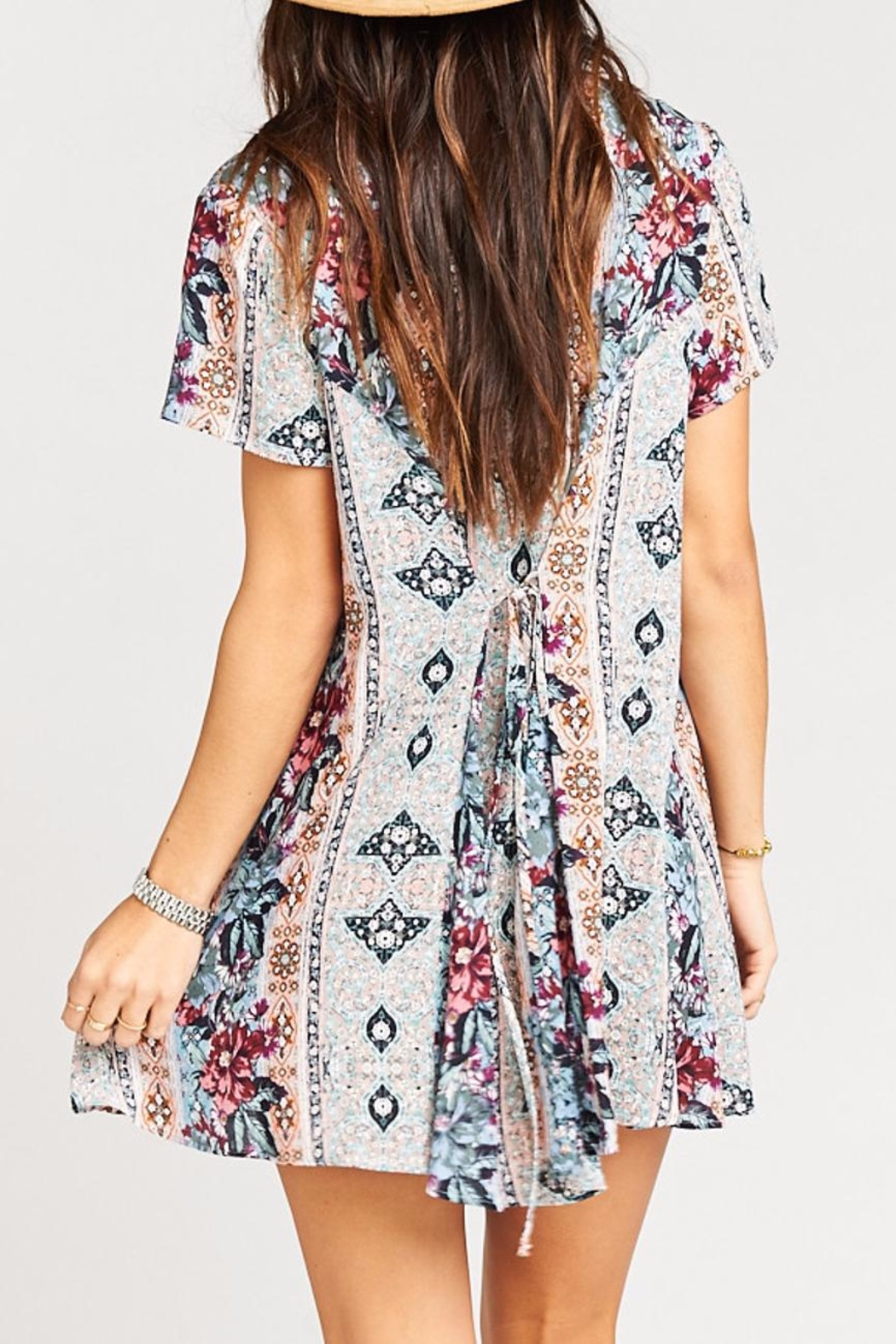 Show Me Your Mumu Bennett Babydoll Dress - Side Cropped Image