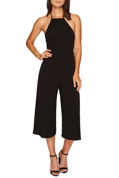 Shoptiques Product: Black Halter Jumpsuit