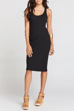 Shoptiques Product: Black Racerback Midi Dress