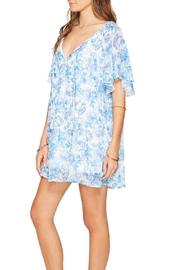Show Me Your Mumu Blue Floral Dress - Front full body