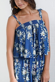 Show Me Your Mumu Blue Floral Top - Front full body