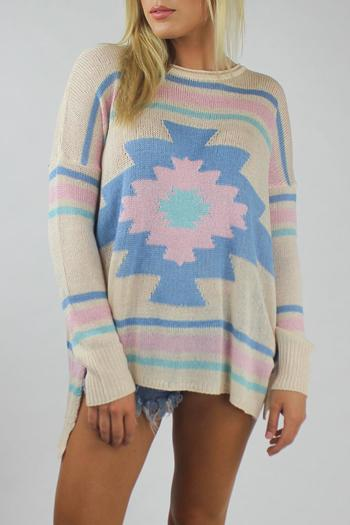 Show Me Your Mumu Bonfire Pullover Sweater From Virginia -1338