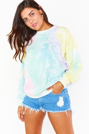 Show Me Your Mumu Boyfriend Sweatshirt - Front full body