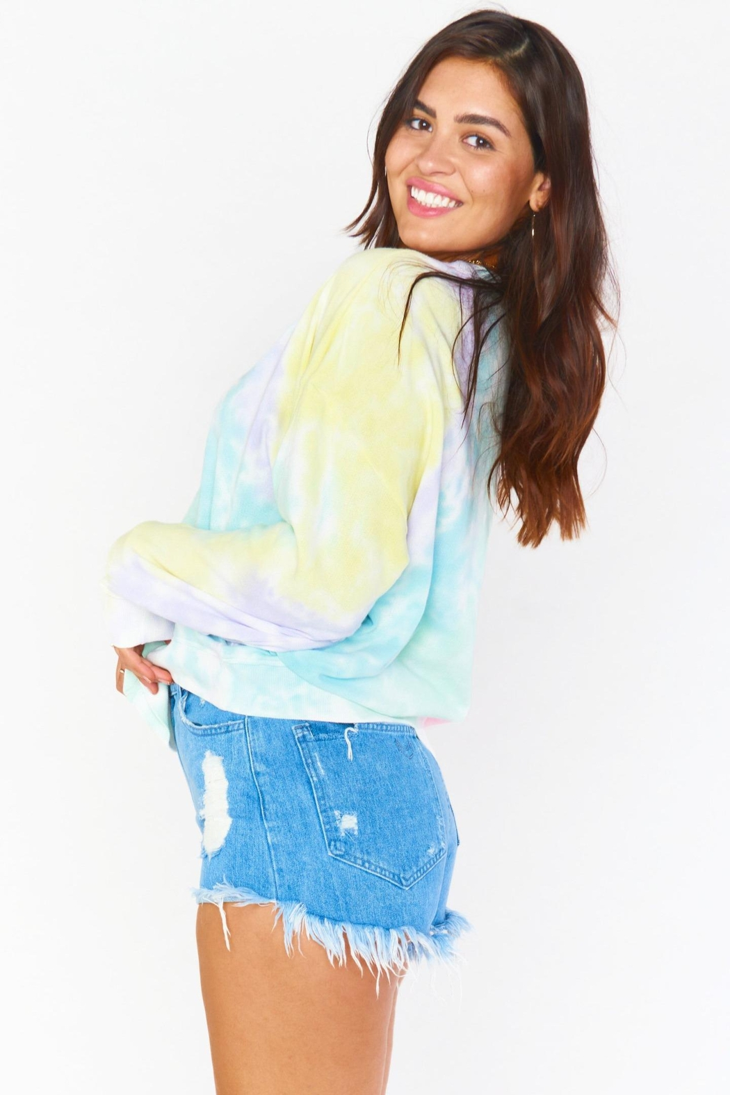 Show Me Your Mumu Boyfriend Sweatshirt - Side Cropped Image