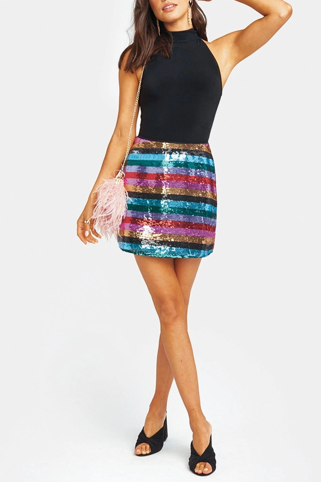Show Me Your Mumu Cade Mini Skirt - Front Full Image