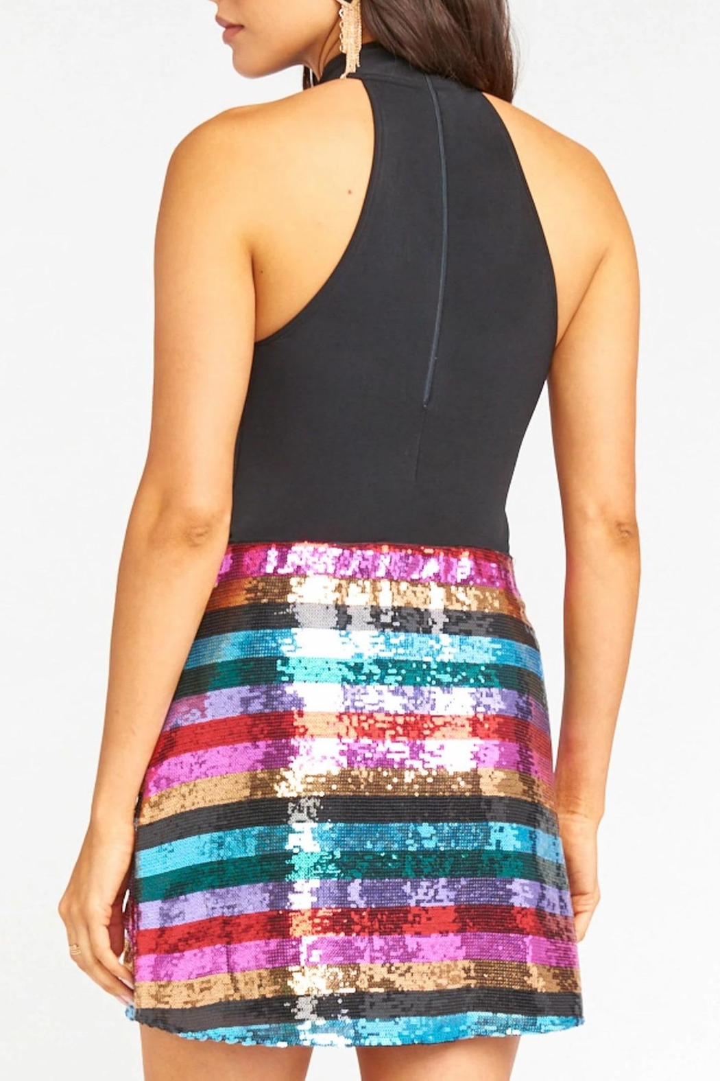 Show Me Your Mumu Cade Mini Skirt - Back Cropped Image