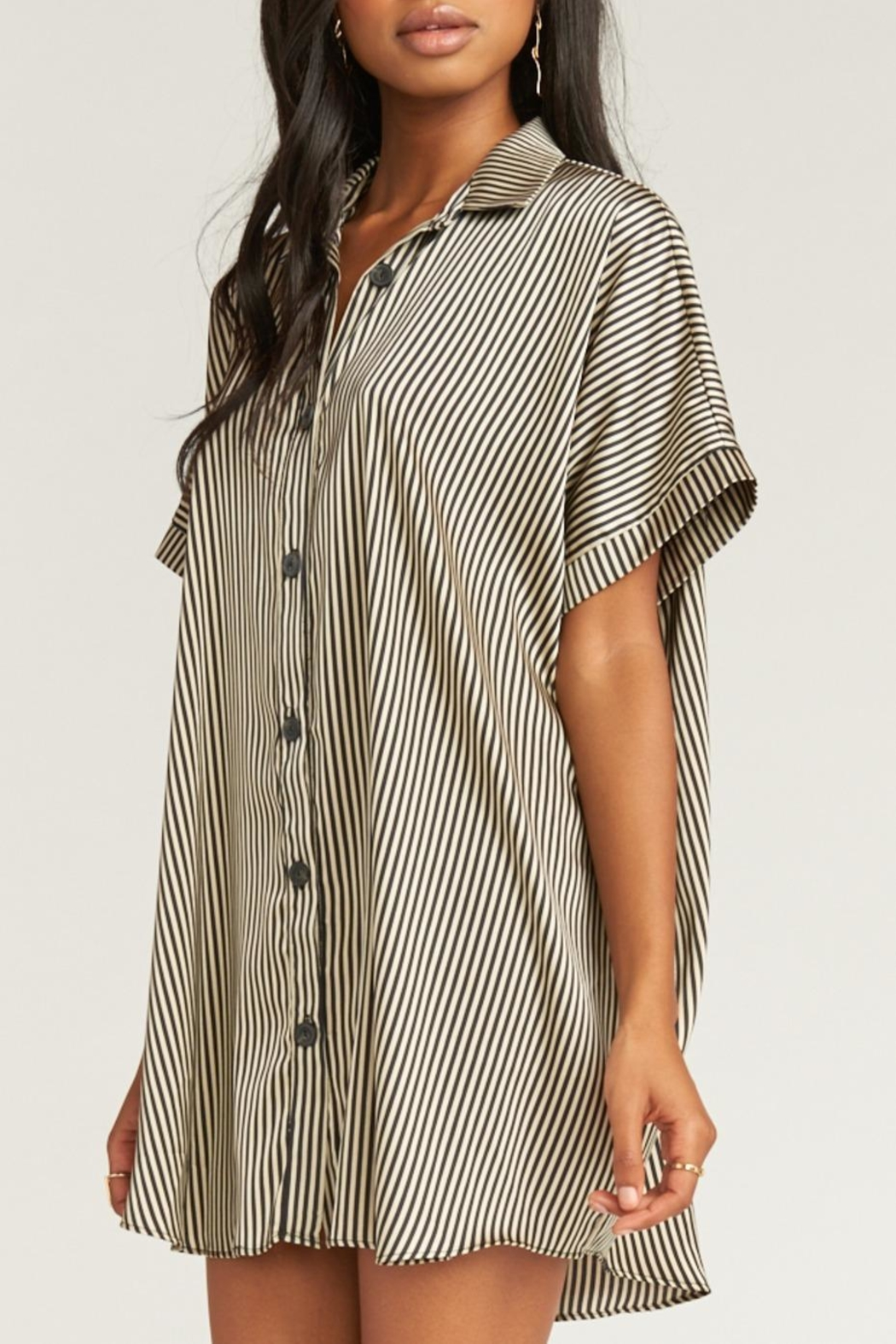Show Me Your Mumu Canal Tunic Dress - Side Cropped Image
