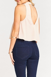 Show Me Your Mumu Casey Collar Top - Back cropped