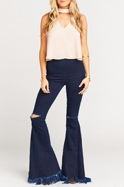 Show Me Your Mumu Casey Collar Top - Front cropped