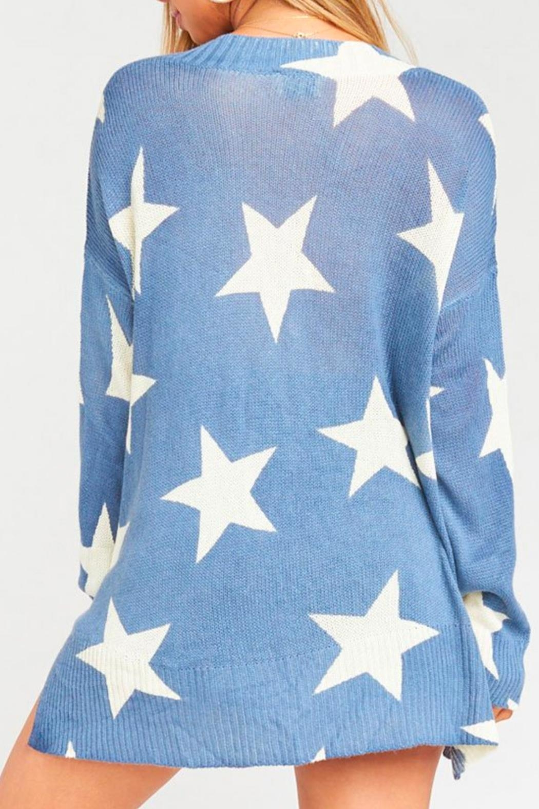 Show Me Your Mumu Cliffside Star Sweater - Side Cropped Image