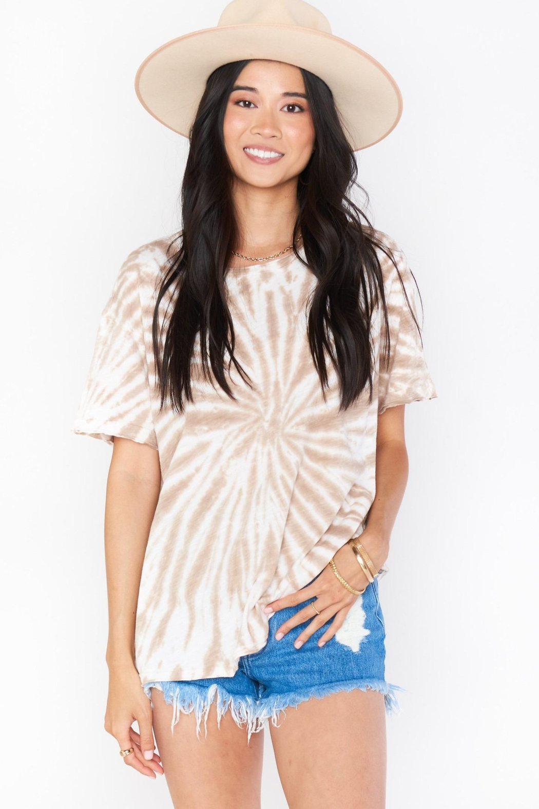 Show Me Your Mumu Cooper Tee - Side Cropped Image