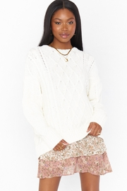 Show Me Your Mumu Day-To-Day Sweater - Front cropped