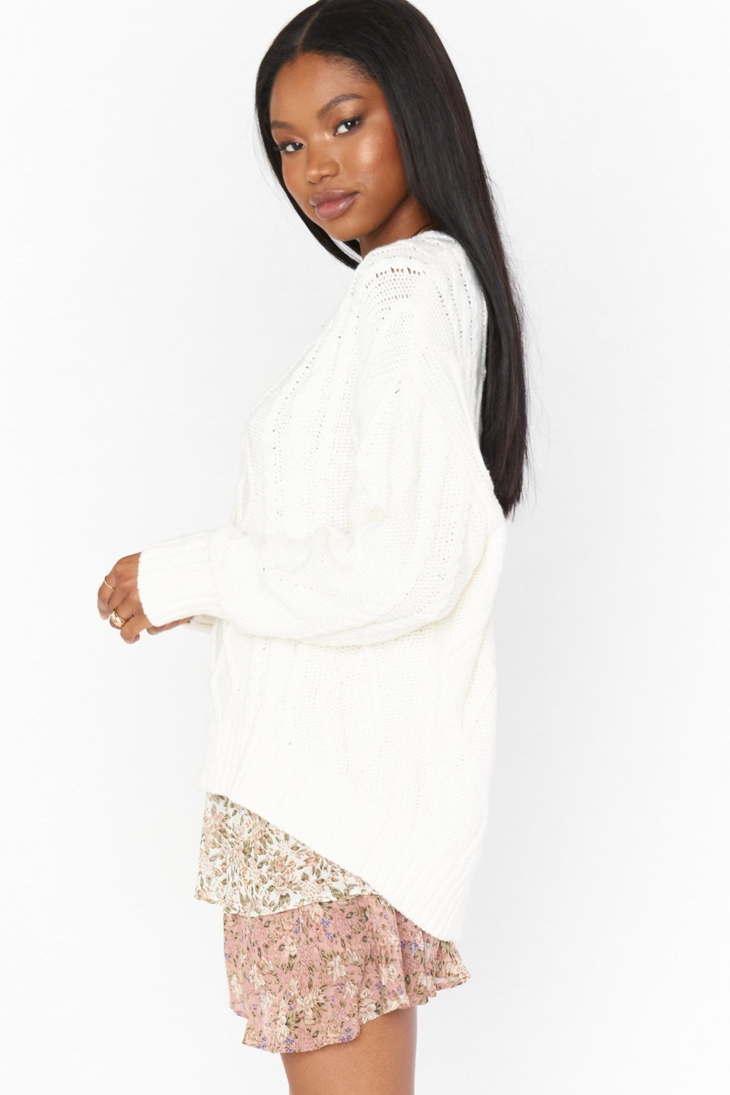 Show Me Your Mumu Day-To-Day Sweater - Front Full Image