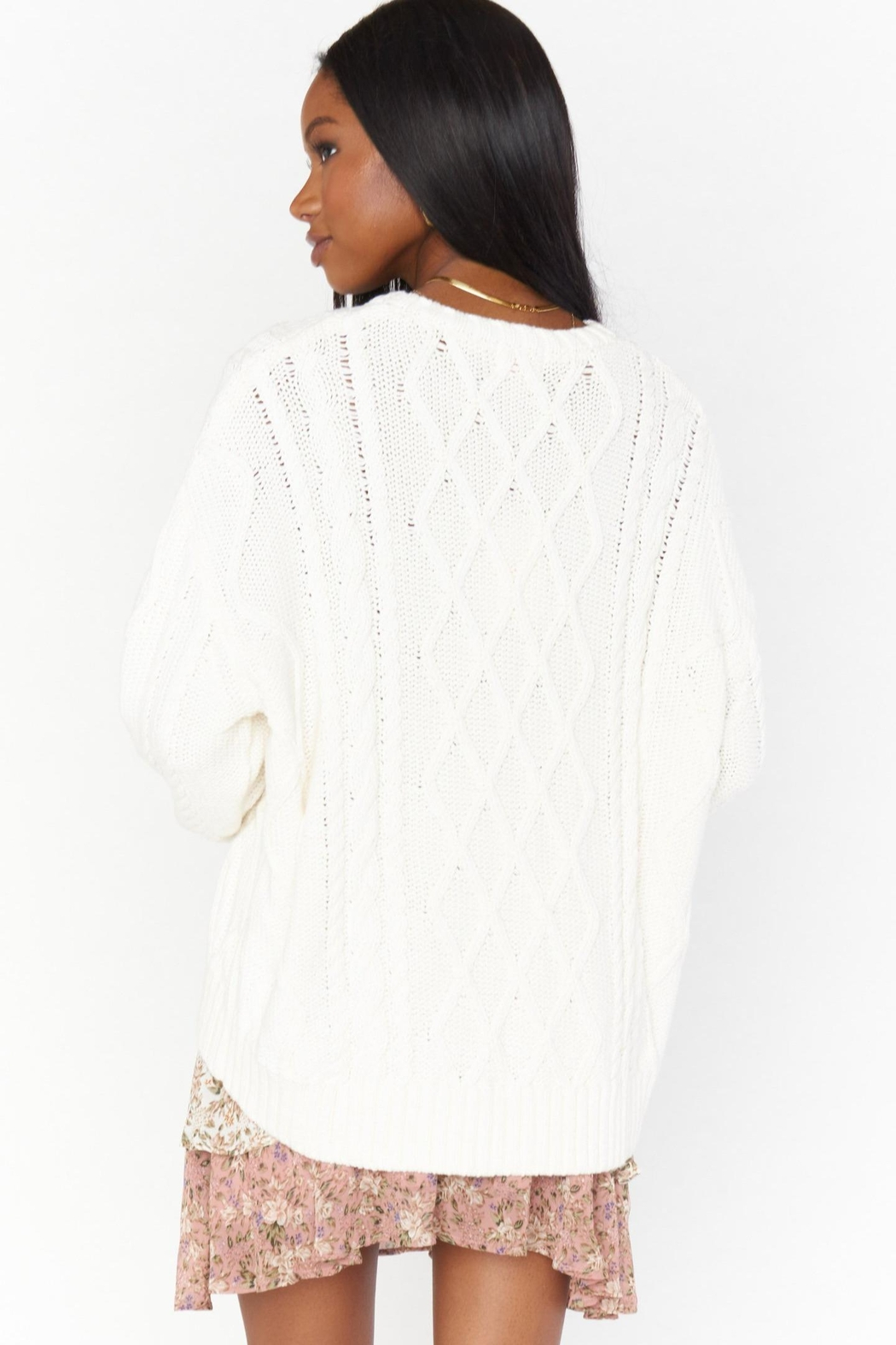Show Me Your Mumu Day-To-Day Sweater - Side Cropped Image