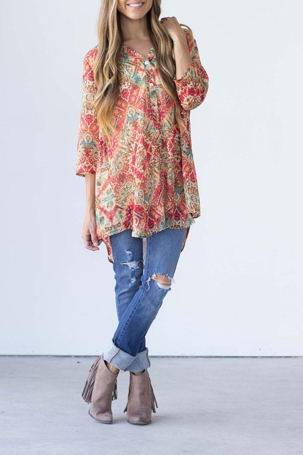 Show Me Your Mumu Downtown Tunic - Front Full Image