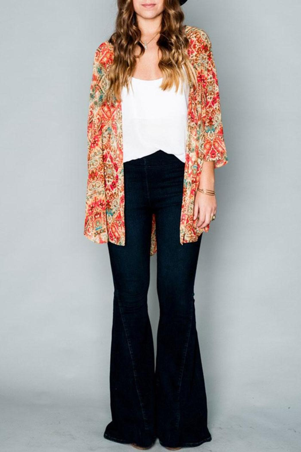 Show Me Your Mumu Downtown Tunic - Side Cropped Image