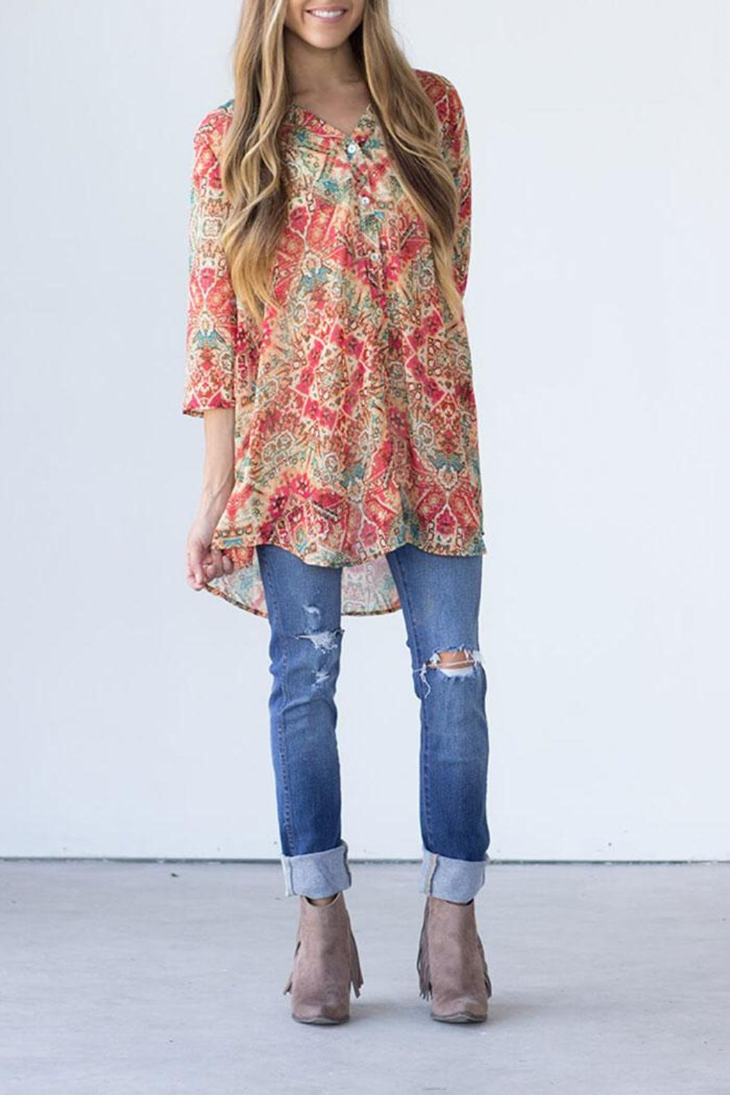 Show Me Your Mumu Downtown Tunic - Front Cropped Image