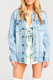 Show Me Your Mumu Drine Denim Jacket - Product Mini Image