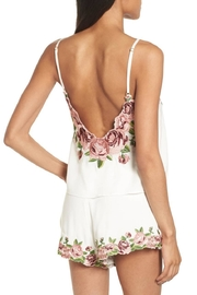 Show Me Your Mumu Embroidered Crop Top - Front full body